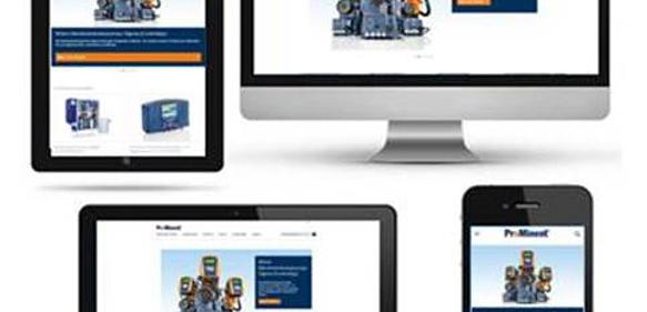 Webseite von ProMinent