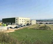 Produktionsgebäude am Standort Ilsfeld