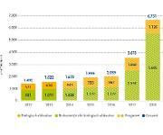 Produktionskapazitäten Biokunststoffe Marktdatenauswertung European Bioplastics