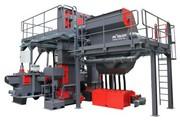 Durchlauf-Strahlanlage: 15 Tonnen Stahlstäbe pro Stunde