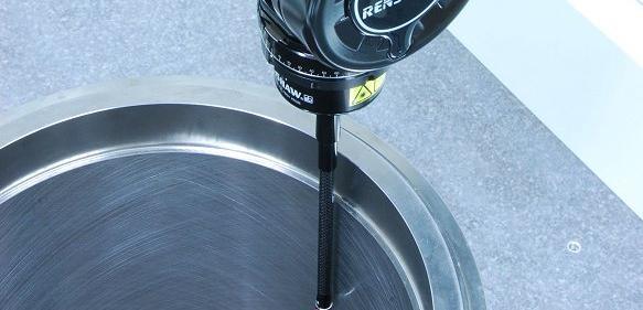 Rauheitsmessung eines Zylinders