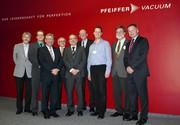 News: Pfeiffer Vacuum empfing Röntgenpreisträger