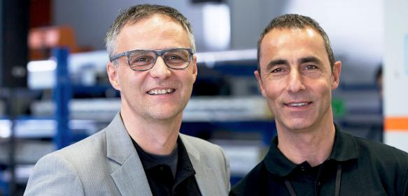 Jürgen Moser (li.) und Sven Anders