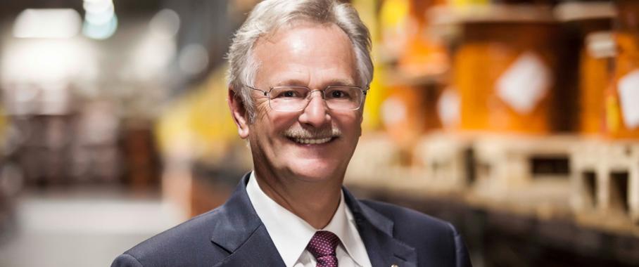 Siegbert E. Lapp von der Lapp Holding