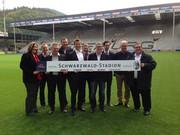 Schwarzwald-Stadion: Julabo ist Stadionpartner des SC Freiburg