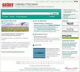 News: Moderne Suche für wachsenden Markt: SEiBT Umwelttechnik mit neuem Design und erweiterten Inhalten