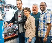 Forscherteam des Bochumer Zentrums für Elektrochemie