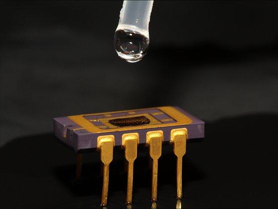 Lab-on-a-Chip: Chemischer Sensor auf einem Chip