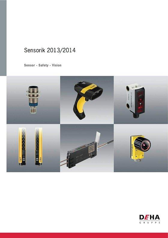 "Katalog ""Sensor – Safety – Vision"" 2013/2014: Die große Welt der feinen Sensoren"