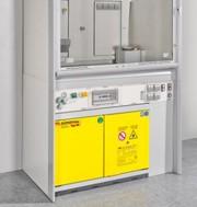 Sicherheitsschrankserie UTS ergo line: Sicherheitsschränke im modernen Labordesign
