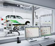 Siemens-Prüfstand Business Unit eCar Powertrain Systems