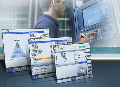 Siemens Drive Technologies: Drei Komfortfunktionen für das Drehen und Fräsen