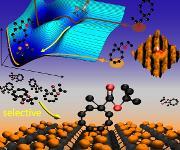 Schnittstelle zwischen Halbleitertechnologie und organischer Chemie