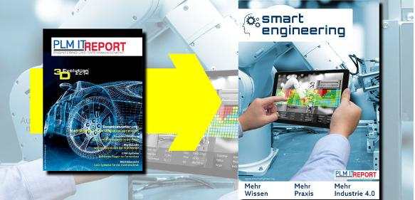 Newsflash in eigener Sache: Aus PLM IT REPORT wird smart engineering