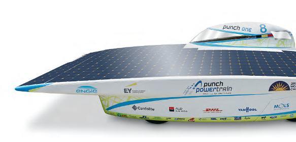 Solar-Fahrzeug Punch One