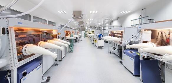 Pilotanlage für gedruckte Elektronik