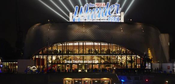 Stage Musicaltheater an der Elbe in Hamburg