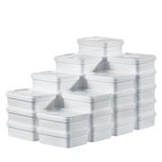 Stapelbehälter: Kombiniert in den Karton