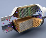 Stickoxide: Neuartiger Katalysator für Dieselabgase