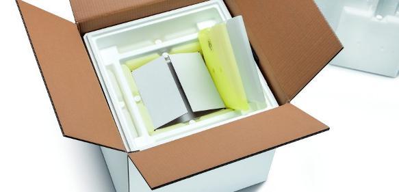 Storopack bringt eine neue temperaturgeführte Schutzverpackung mit rund 96 Stunden Haltedauer auf den Markt. (Bild: Storopack)