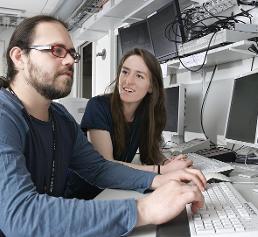 Strahllinienwissenschaftler an der SLS
