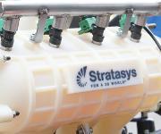 3d-gedruckte Ansaugkammer im Rennwagen BRC14