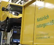 Streescooter Deutsche Post