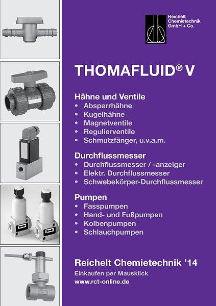 Handbuch THOMAFLUID®-V: Hähne, Ventile, Pumpen