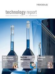 """News: 3. """"technology report"""" von Heraeus erschienen"""