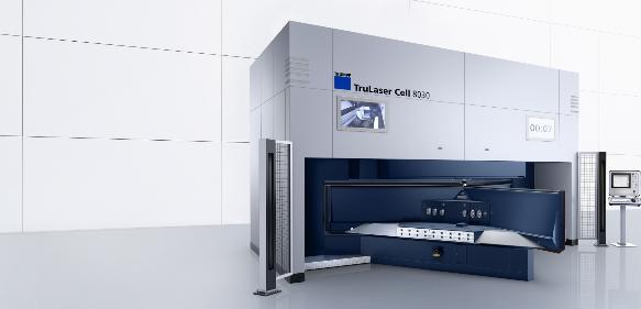 Laserbearbeitungszentrum von Trumpf