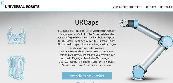 Verkaufsplattform URCaps