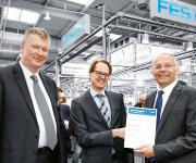 Uebergabe Preffered Supplier Award von Bosch an Festo