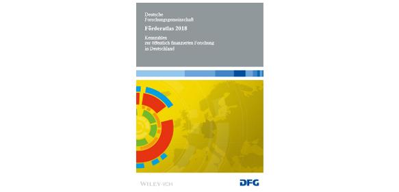 Titelseite des Förderatlas 2018 der DFG