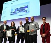 "Verleihung des ""Focus Open Gold"" Award"