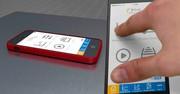 Da wackelt das Iphone auf der Motek: VibroChecker für das Smartphone