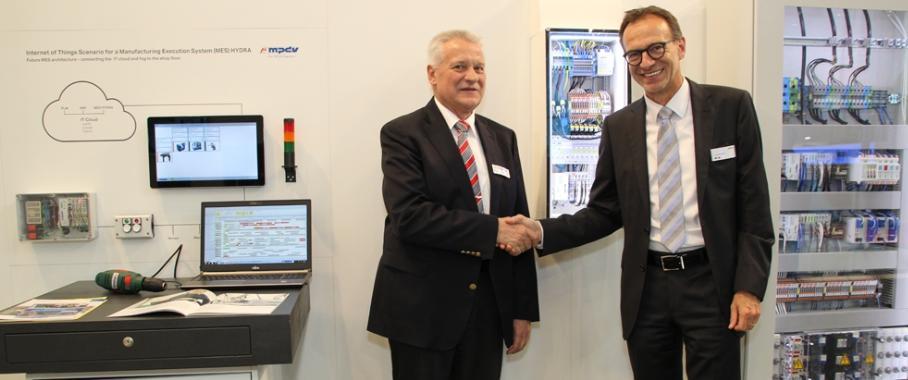 Jürgen Kletti und Jürgen Schäfer