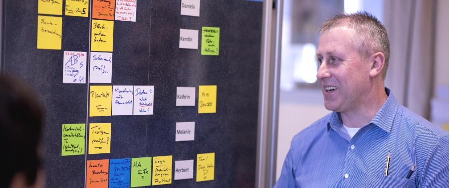 Projektmanagement nach der Scrum-Methode