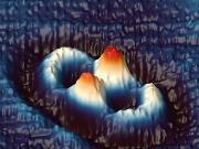 Wellenmuster von Elektronen