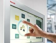 Bediengeräte Rexroth IndraControl V: Produktiver Fingerwisch