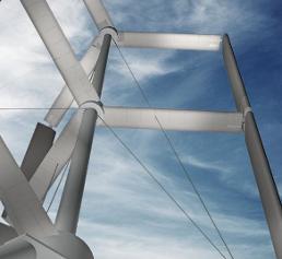 innovative Windkraftanlage