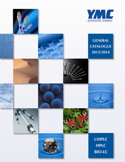 News: Neuer YMC-Gesamtkatalog für die (U)HPLC und Bio-LC