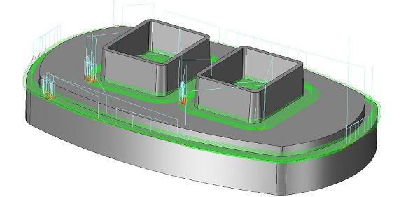 CAD/CAM-Software: Editor für Fräsbahnen