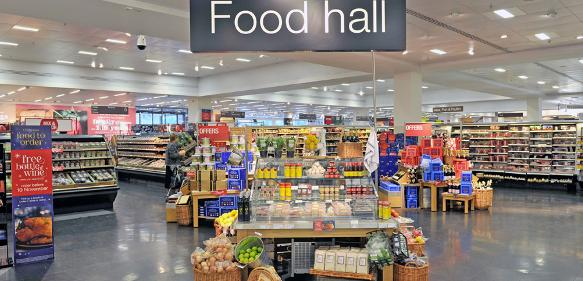 Zetes Marks Spencer Food Hall