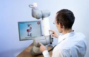 Taktiles Sensorsystem (mit Video): Roboter suchen Kontakte