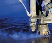 Wasserstrahlschneidanlage bei WMH