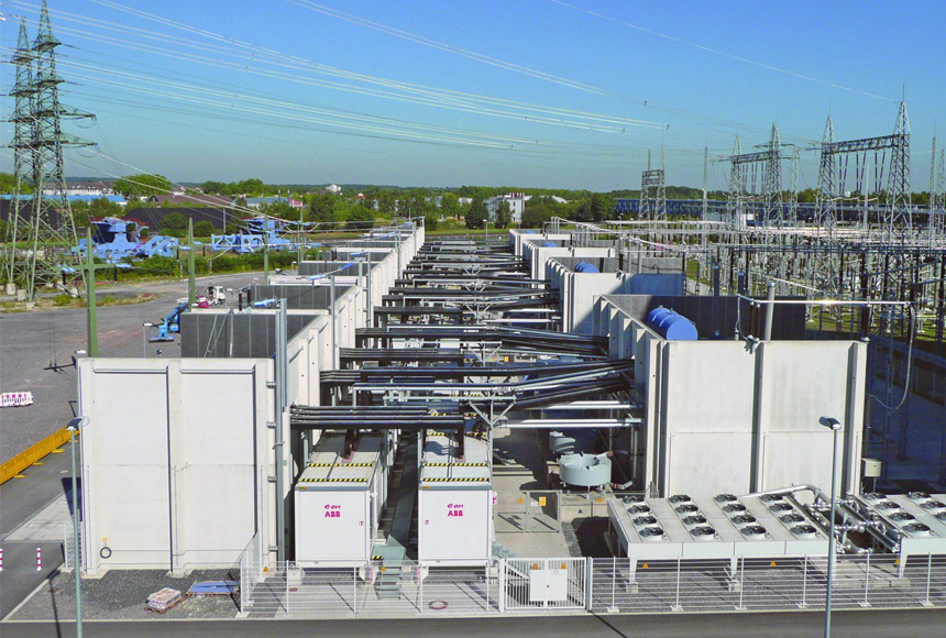 Leistungsstärkste Bahnstrom-Umrichteranlage:: ABB installierte Rekord-Anlage