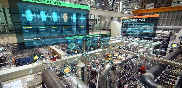 """General Electric hat es sich zur Aufgabe gemacht, seine Kunden auf dem Weg zur Digitalisierung zu unterstützen. Dazu veranstaltet das Unternehmen jährlich die Fachkonferenz """"Minds + Machines""""."""
