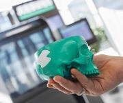 Implantat für Schädelknochen
