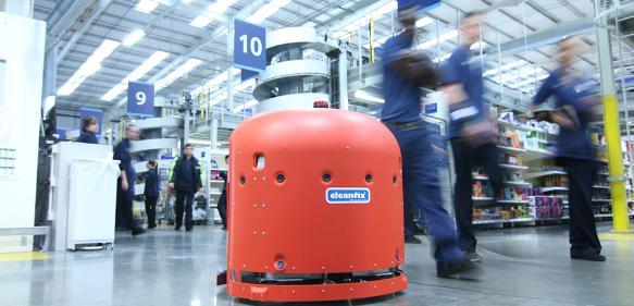 Autonomer Reinigungsroboter