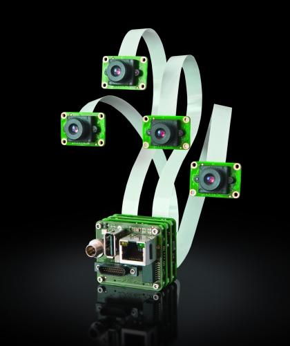 Multisensorkamera: Multisensoren: Kamera bearbeitet Bilder